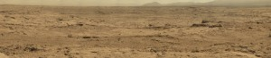 "Uncorrected ""RAW"" panorama of Mars"